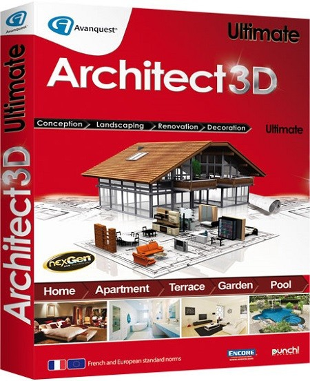 Avanquest Architect 3D Ultimate torrent