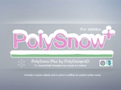 PolyDesign3D - PolySnow Plus for 3ds Max 2016-2022