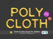 PolyDesign3D - PolyCloth for 3ds Max 2016-2022