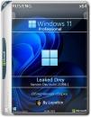 Microsoft Windows 11 Pro LEAKED x64 DREY